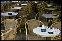 Cafe table, Cours Mirabeau. Aix-en-Provence, France (color)