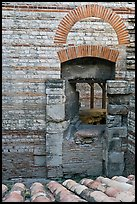 Thermae of of Constantine. Arles, Provence, France (color)
