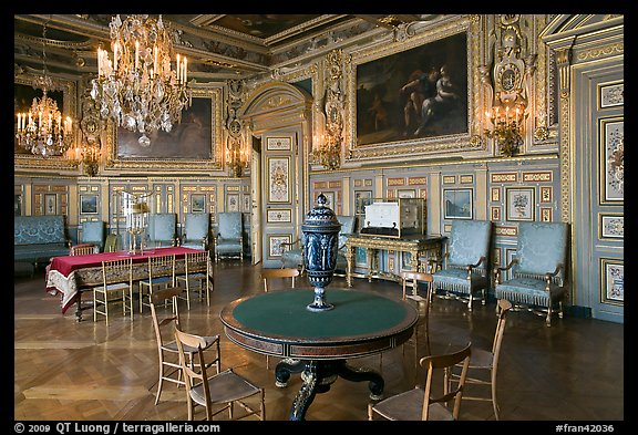 Picture Photo Salon Louis Xviii Chateau De Fontainebleau