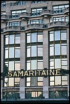 Samaritaine department store facade. Paris, France ( color)