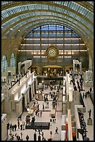 Inside of the Musee d'Orsay. Paris, France ( color)