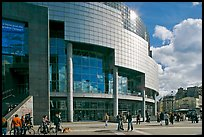 Opera Bastille. Paris, France (color)