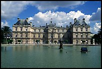 Palais du Luxembourg. Quartier Latin, Paris, France (color)