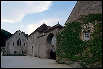 Fontenay Abbey. Burgundy, France ( color)