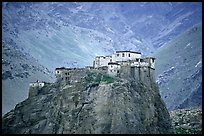 Bardan monastery, Zanskar, Jammu and Kashmir. India (color)