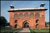Naubat Khana (Drum house), Red Fort. New Delhi, India ( color)