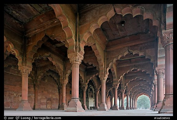 Diwan-E-Aam In Red Fort, New Delhi Editorial Image - Image