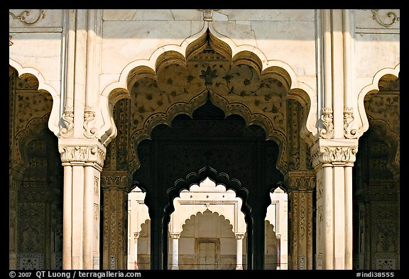 Picture Photo Arches Diwan I Khas Hall Of Private