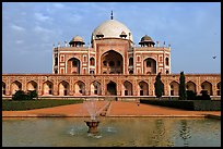 Humayun's tomb. New Delhi, India ( color)
