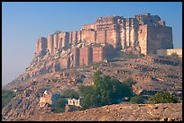 Mehrangarh Fort. Jodhpur, Rajasthan, India ( color)