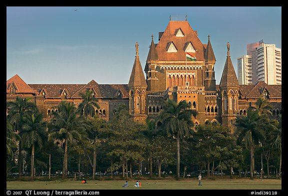 High Court, late afternoon. Mumbai, Maharashtra, India