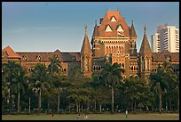 High Court, late afternoon. Mumbai, Maharashtra, India (color)