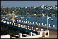 Dona Paula pier and harbor. Goa, India