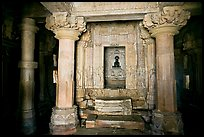 Main hall (mahamandapa), and inner sanctum, Parsvanatha, Eastern Group. Khajuraho, Madhya Pradesh, India (color)