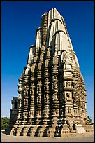 Duladeo Temple, Southern Group. Khajuraho, Madhya Pradesh, India (color)