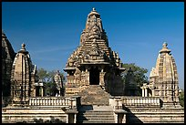 Lakshmana temple. Khajuraho, Madhya Pradesh, India ( color)