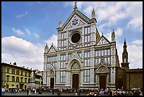 Santa Croce. Florence, Tuscany, Italy (color)