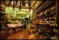Produce store on Via San Giovanni. San Gimignano, Tuscany, Italy ( color)