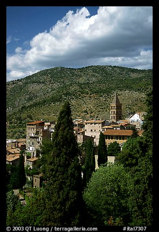 The town. Tivoli, Lazio, Italy (color)