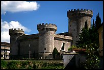 Castle. Tivoli, Lazio, Italy (color)
