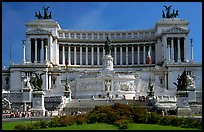 Victor Emmanuel Monument, built to honor Victor Emmanuel II, the first king of unified Italy. Rome, Lazio, Italy ( color)