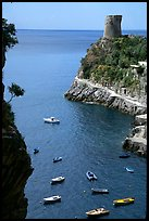Cove. Amalfi Coast, Campania, Italy ( color)