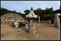 Seolleung of King Seonjong, Samreung Gongwon. Seoul, South Korea ( color)