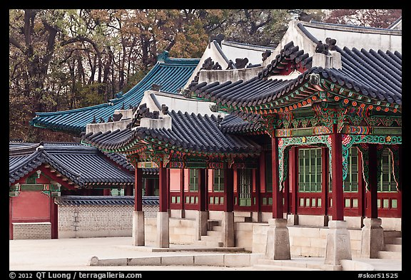 Huijeong-Dang, Changdeok Palace. Seoul, South Korea (color)
