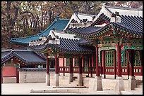 Huijeong-Dang, Changdeok Palace. Seoul, South Korea ( color)