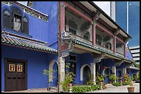 Cheong Fatt Tze Blue Mansion. George Town, Penang, Malaysia ( color)