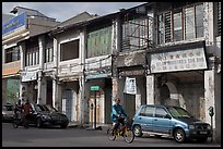 Old Chinatown storehouses. George Town, Penang, Malaysia ( color)