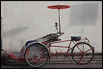 Trishaw. George Town, Penang, Malaysia ( color)