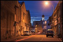 Street at night. George Town, Penang, Malaysia ( color)