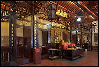 Cheng Hoon Teng, oldest Chinese temple in Malaysia (1646). Malacca City, Malaysia ( color)