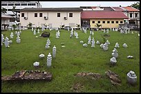 Cemetery of Kampung Kling Mosque. Malacca City, Malaysia ( color)
