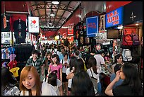 Crowds in Bugis Street Market. Singapore ( color)