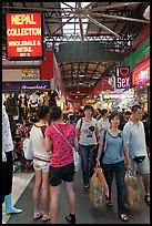 Shoppers, Bugis Street Market. Singapore ( color)