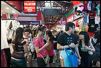 Covered market, Bugis St Market. Singapore ( color)