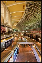 The Shoppes mall, Marina Bay Sands. Singapore ( color)