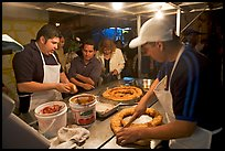 Street food stand by night, Tlaquepaque. Jalisco, Mexico ( color)