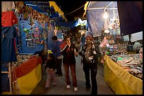 Arts and craft night market, Tlaquepaque. Jalisco, Mexico ( color)