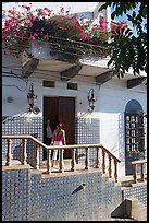Women at the door of a house, Puerto Vallarta, Jalisco. Jalisco, Mexico ( color)