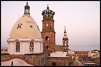 Templo de Guadalupe at dawn, Puerto Vallarta, Jalisco. Jalisco, Mexico (color)