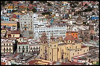 Basilic and University in the center of the town. Guanajuato, Mexico ( color)
