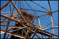 Tower above the main shaft of La Valenciana mine. Guanajuato, Mexico ( color)
