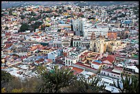 Panoramic view of the town center at dawn. Guanajuato, Mexico ( color)