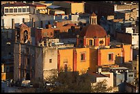 Church San Roque, early morning. Guanajuato, Mexico