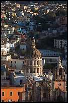 Church of la Compania de Jesus, early morning. Guanajuato, Mexico