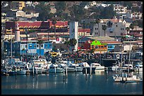 Yachts and waterfront, Ensenada. Baja California, Mexico ( color)