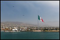 Ensenada seen from harbor. Baja California, Mexico ( color)